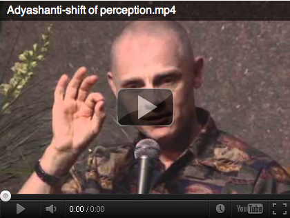 WATCH: Adyashanti's Shift of Perception