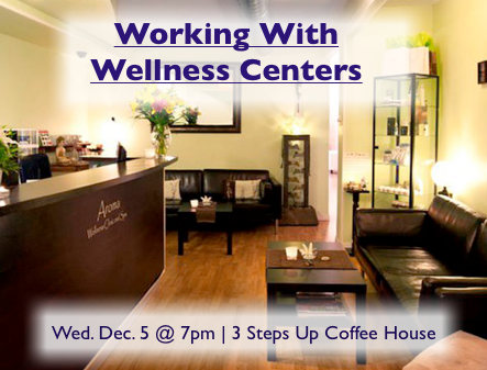 Meetup: Working With Wellness Centres