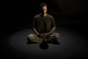 meditate in the dark